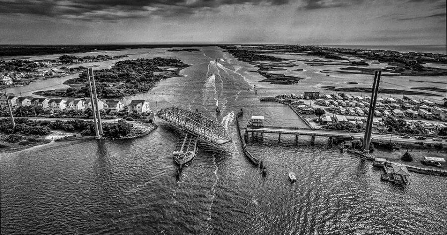Topsail Beach Aerial Photo